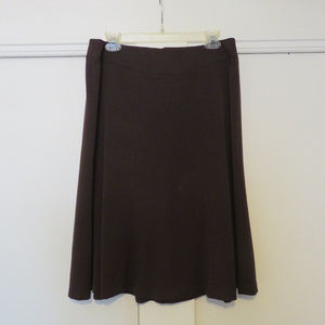 Brown A-line skirt Size 10
